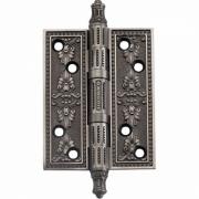Петля дверная универсальная GENESIS 101x77 Чернёное серебро
